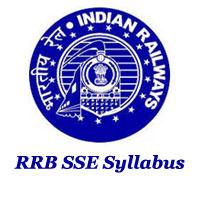 RRB SSE Syllabus 2021